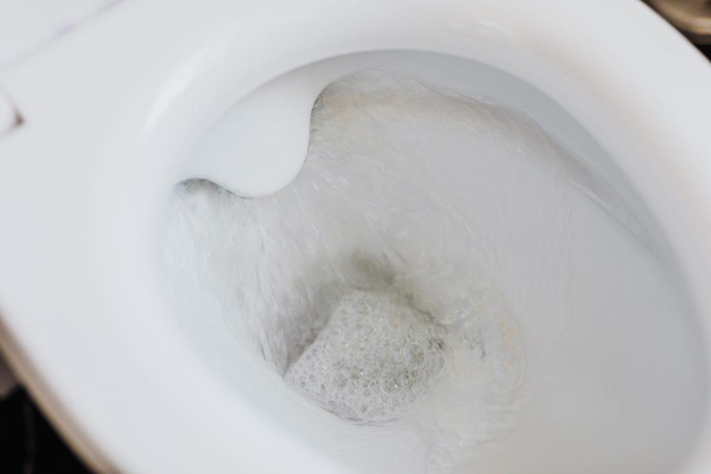 WC schoonmaken