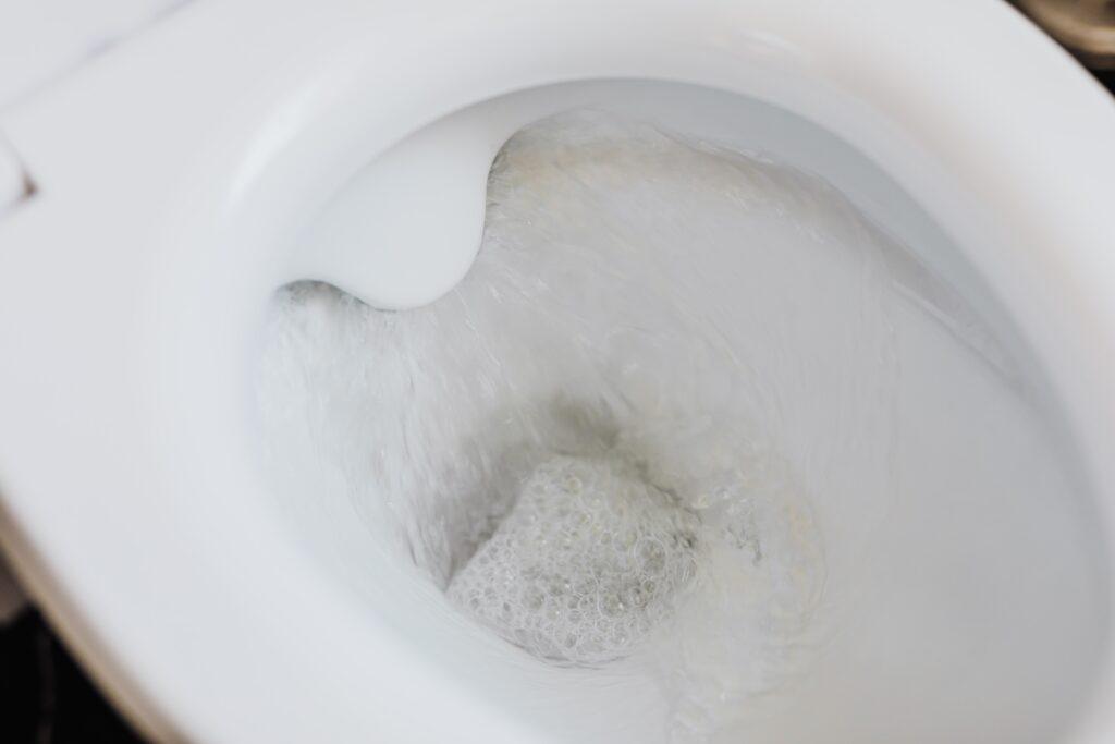 toilet schoon