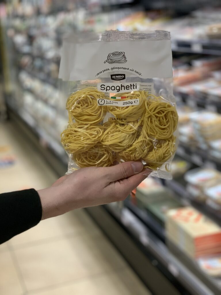 hoe kook je verse spaghetti