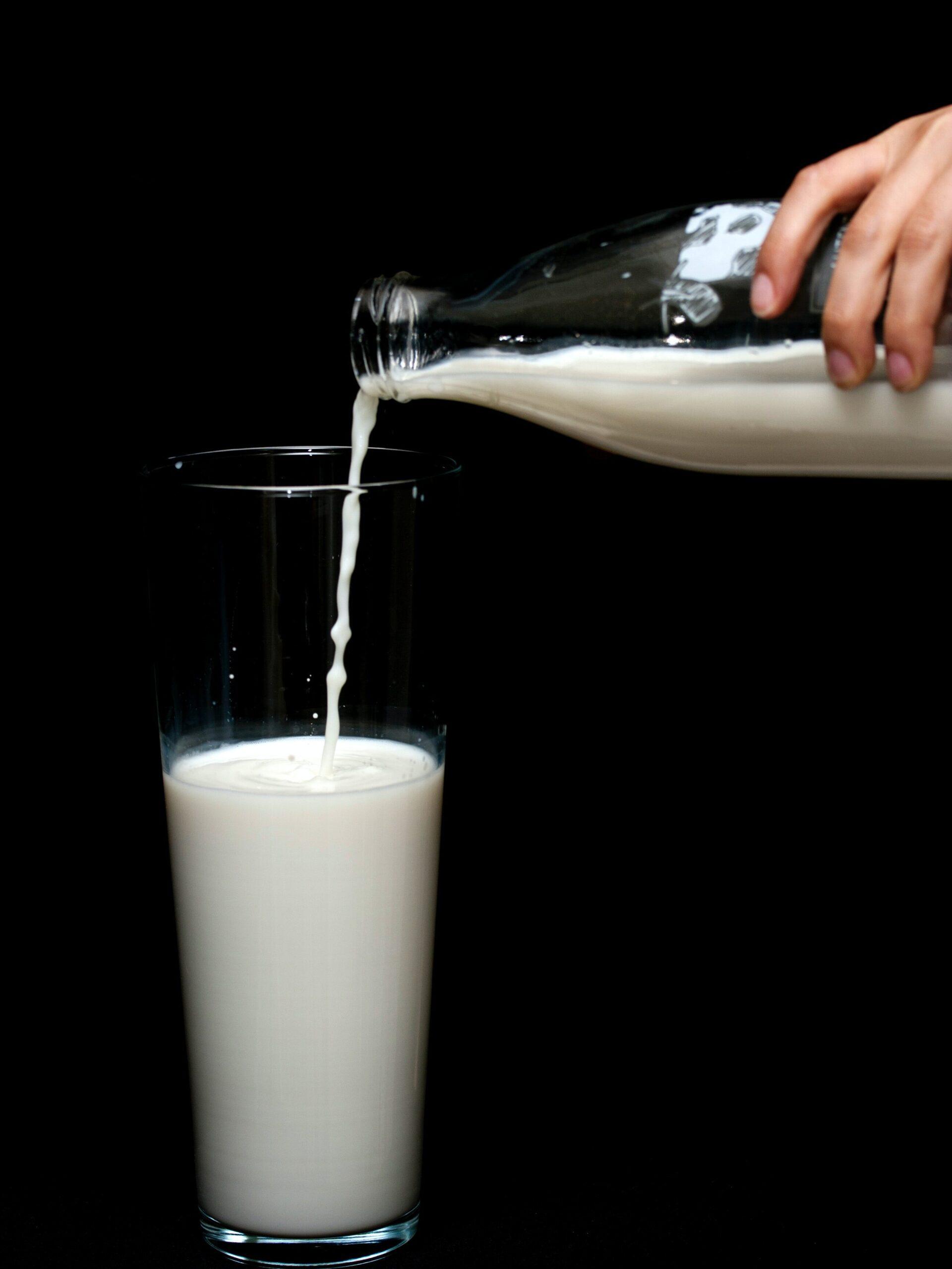 Kookroom vervangen door melk